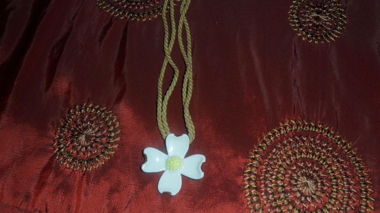 Dogwood Rope Necklace