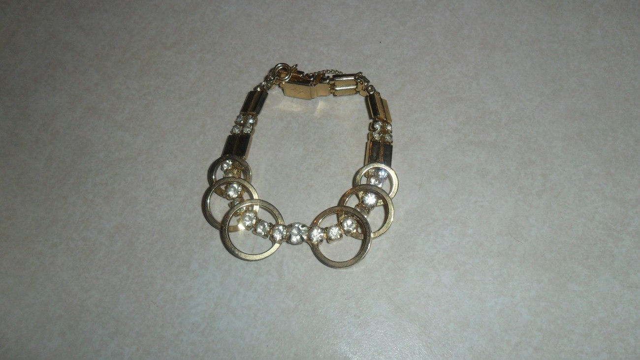 Vintage Collectors Bracelet 1956 Celestial Fire by Sara Coventry