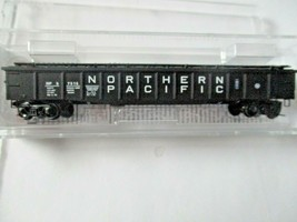Micro-Trains # 10600140 Northern Pacific 50' Steel Side 14 Panel Gondola N Scale image 1