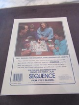 Jax Sequence Game Board Card Strategy Exciting Family Fun Play Complete Set New - $19.89