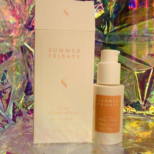 New In Box Summer Fridays CC Me Serum 1oz (30mL) Potent Vitamin C Brightening