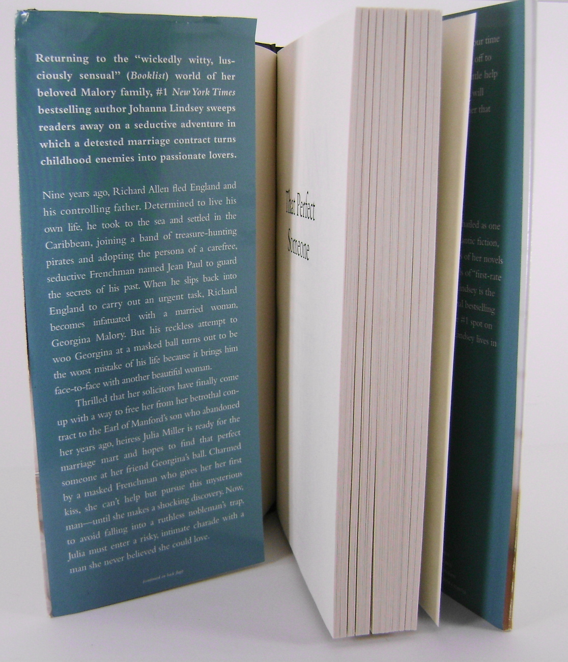 That Perfect Someone Mallory Novel by Johanna Lindsey