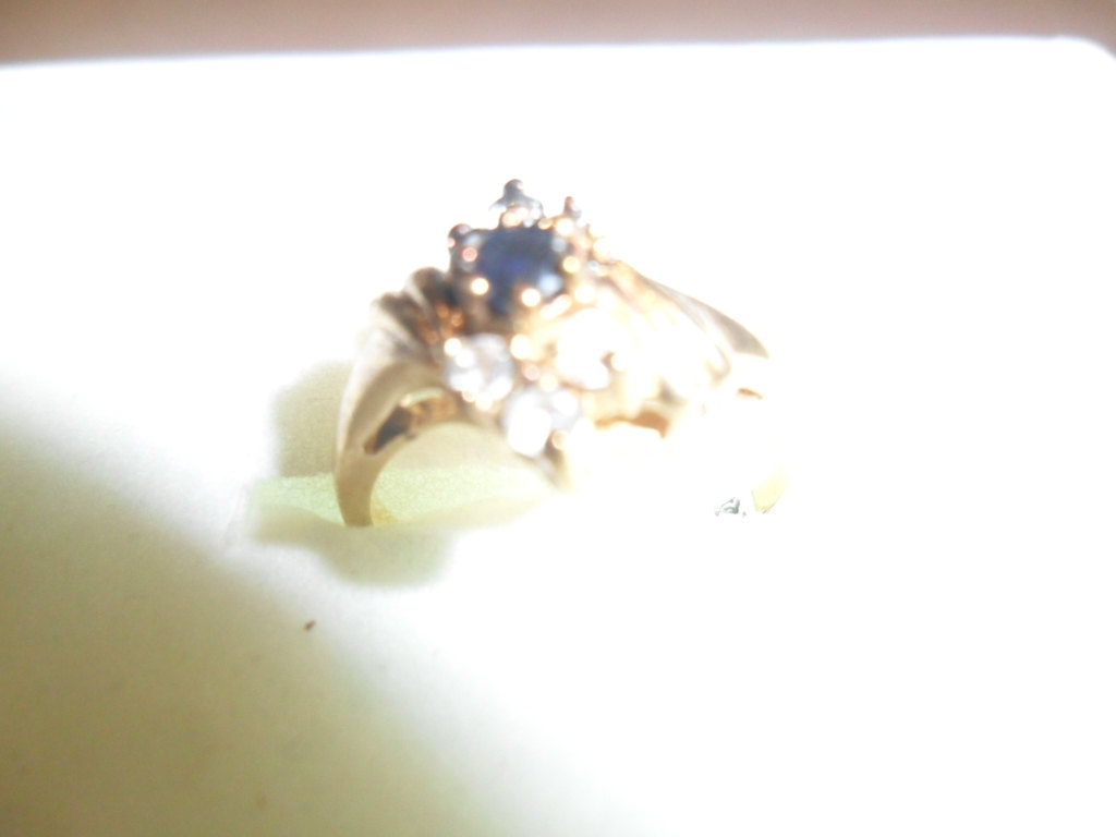 14 KT Gold  Electroplated Ring