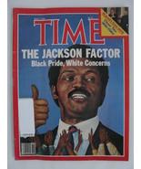 Magazine Time 1984 May 7 Jesse Jackson Black Pride White Concerns Reagan... - $9.99