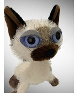 """Twisted Whiskers """"Ching"""" Cat Posable American Greetings Plush White Cat ... - $29.69"""