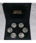 RARE 1992 USSR OLYMPIC COIN PROOF SET Mint 6 COINS - ₹3,499.26 INR