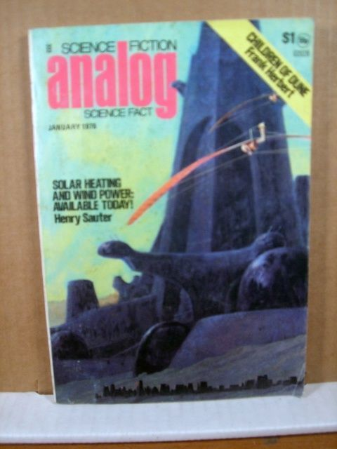 Analog Sci Fi Magazine January 1976 Henry Sauter