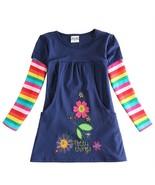2020 flower girl dress nova kids brand girl fashion dress 100%cotton kid... - $27.54