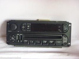 02-06 Dodge Caravan Wrangler Neon Radio Cd Faceplate P05091556AF F4101 - $7.28