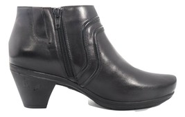 Abeo Raegan Booties Black Women's Size US 7 Neutral Footbed ()5294 - $65.00