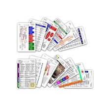 Complete Nurse RN CNA NA Vertical Badge Card Set - 13 Cards - $41.46