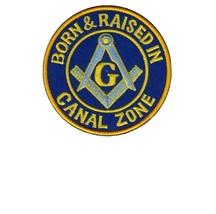 Canal Zone Association Masons, Zona del Panama ''Born & Raised in Canal Zone'' l - $9.99
