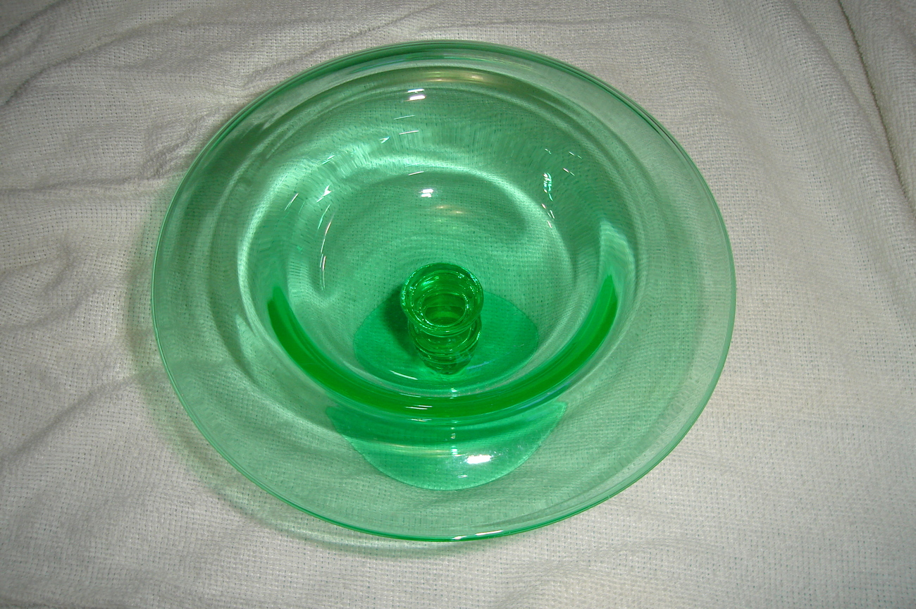 Green bamboo optic ocnsole bowl 2