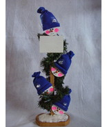 Personalized Wood Lighted Snowman Decoration Sn... - $38.00