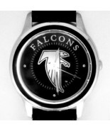 Atlanta Falcons NFL Fossil Relic, Unworn Silver Tone Case Black Insert W... - $78.06