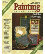 PLAID'S PAINTING COLLECTION / GET THE MESAGE BY JUDI WARNKE - $7.95