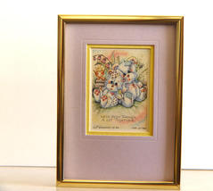 Jody Bergsma: Ltd Ed. Signed,Numbered Framed Print We've Been Thru a Lot... - $9.90