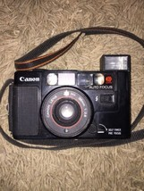 Canon Sure Shot 35mm Film AF35M II Point Shoot Camera 38mm 1:28 Not Working - $28.04