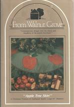 Apples Christmas Tree Skirt Pattern / From Walnut Grove - $7.95