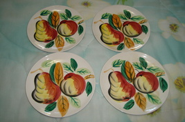 Painted Fruit Dishes - Set of 4 - $10.00