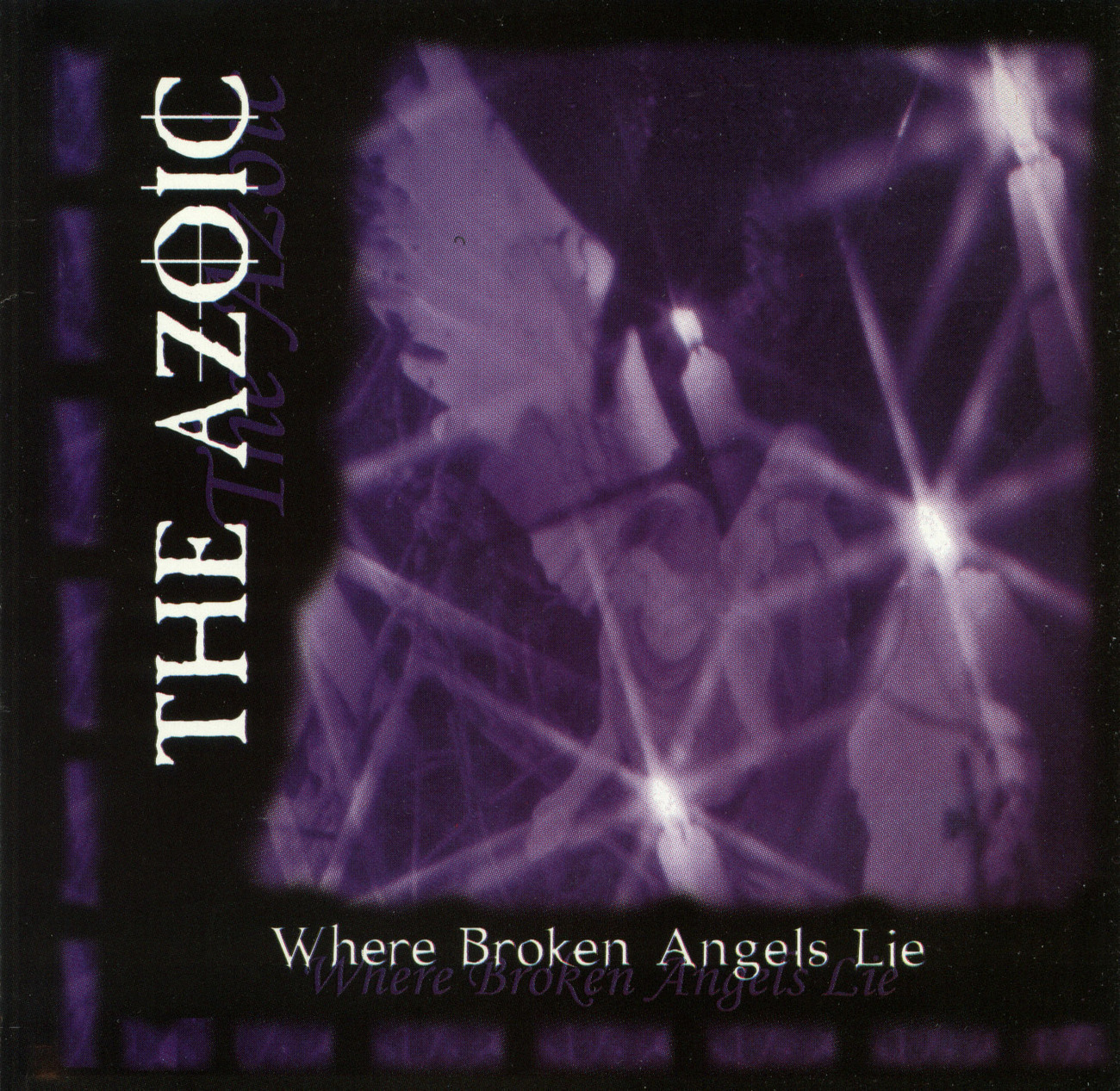 Primary image for THE AZOIC - Where Broken Angels Lie CD Goth OOP/Rare