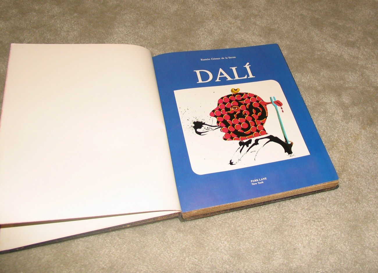 Dali 1977 by Ramon Gomez de la Serna Vintage Collectible Bk
