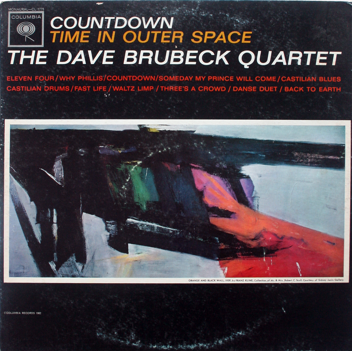 Primary image for Dave Brubeck - Countdown Time In Outer Space MONO LP