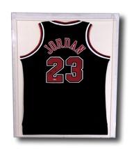 MICHAEL JORDAN SIGNED & FRAMED CHICAGO BULLS BLACK JERSEY UDA COA AUTOGR... - $3,229.96