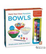 MindWare Paint Your Own Porcelain: (Bowls) - $32.44