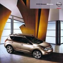 2009 Nissan MURANO sales brochure catalog US 09 S SL LE - $9.00
