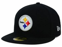 New Era 59 Fifty Pittsburgh STEELERS Fitted Cap YOUTH Size 6 5/8 BIG Ben! - ₹1,036.57 INR