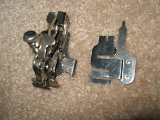 Elgin Rotary ARE Shirrer and 5 Stitch Ruffler Unused