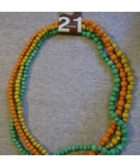 3 beaded necklace brand name Twentyone 21 - $1.99