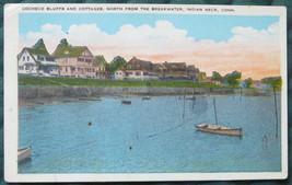 Tichnor Bros, White Border Postcard, Cocheco Bluffs and Cott - $7.00