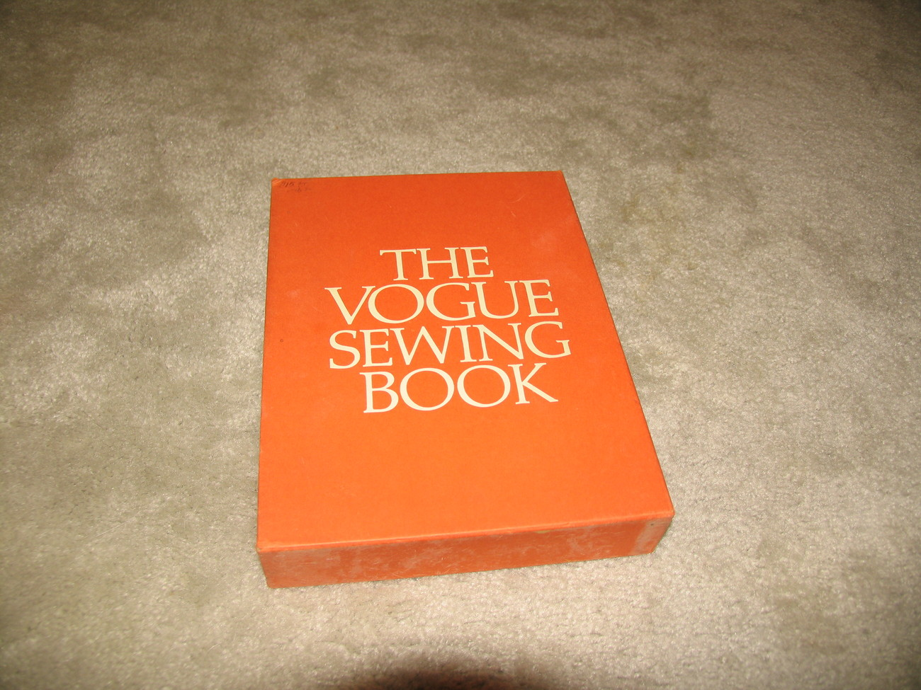 Vogue Sewing Book 1970 Vintage Collectible Hardcover Book