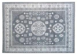 Gray-Ivory Luxurious Quality Wool Oriental Rugs Handmade Oushak Area Rug... - $618.29