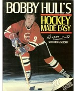 1983 bobby hull autograph book bobby hulls hockey made easy rare - $69.99