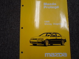 1996 MAZDA PROTEGE Electrical Wiring Diagram Service Repair Shop Manual OEM Book - $18.52