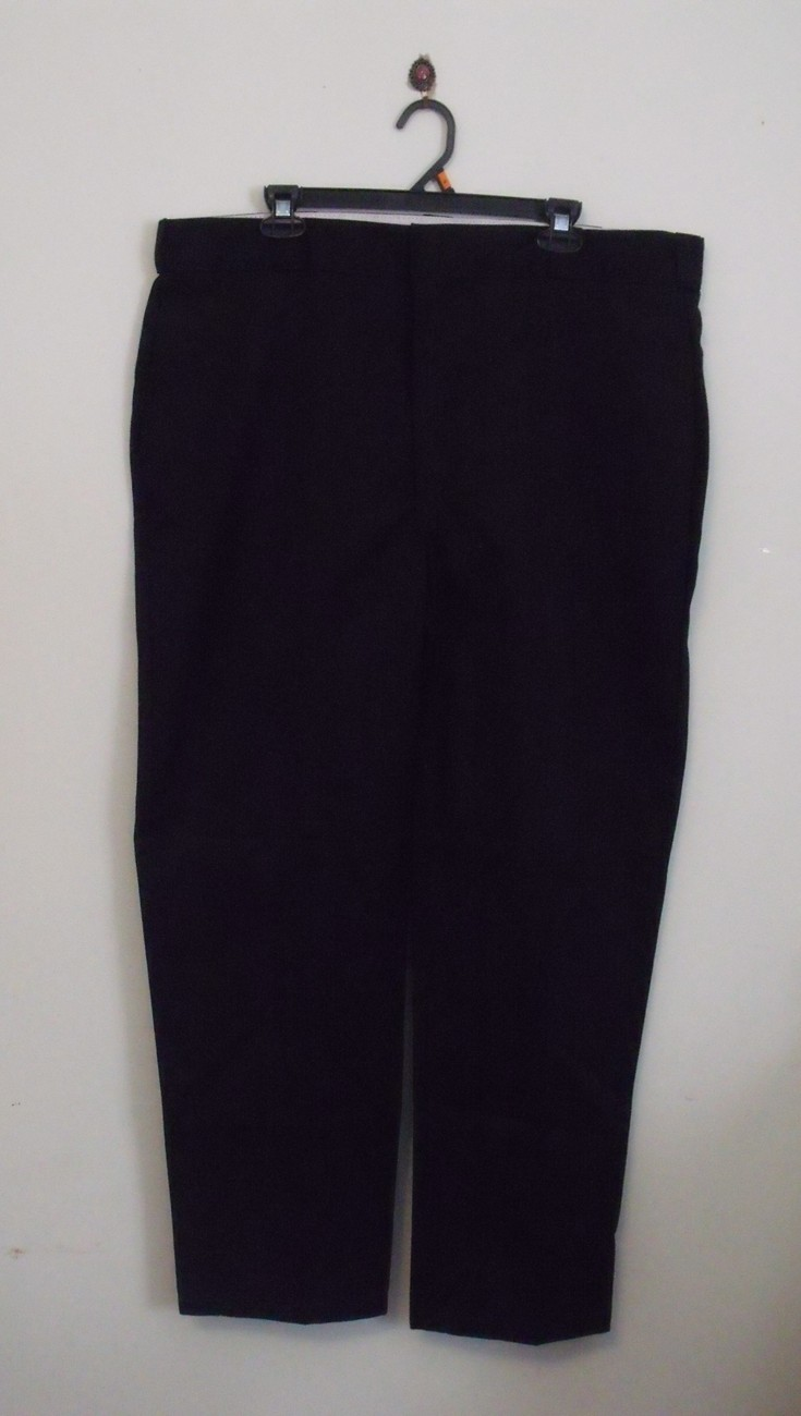 Primary image for Mens Dickies NWOT Black Work Pants Size 42 X 32