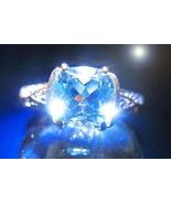 HAUNTED RING QUEEN'S CIRCLE OF POWER & TRUST MAGICK OFFER ONLY 925 7 SCH... - $89,007.77