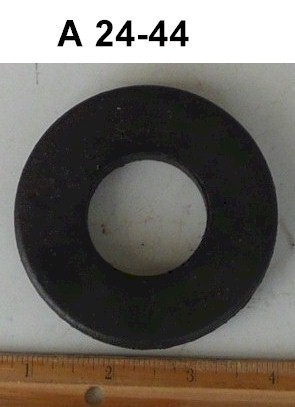 One Black Rubber Grommet A24-44