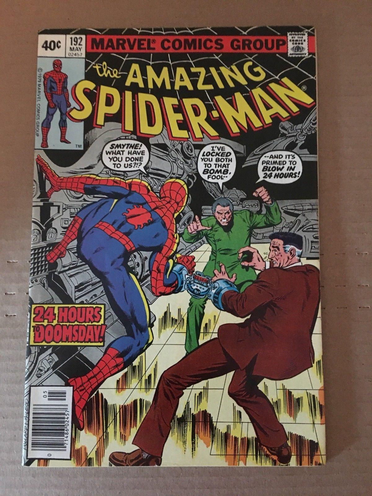 Amazing Spider-Man 192 Marvel Comic Book 1979 VF+ Condition Doomsday