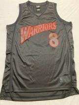Rare ADIDAS G.S Warriors Monta Ellis Black Alternate SWINGMAN Jersey ME... - $197.97