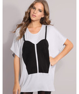 $149 Natalie Encarnita Color blocked Bustier Co... - $48.00