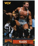 1999 Topps WCW Nitro Kaos card / WWE WWF NWO TNA Impact - $1.75