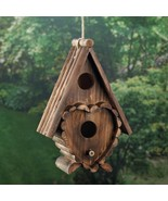 HEART SHAPED BIRD HOUSE - $24.95