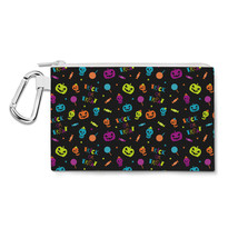 Neon Trick or Treat Canvas Zip Pouch - $15.99+