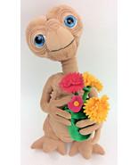 "ET Extra Terrestrial FLowers Daisies Pot Plush Stuffed Animal 16"" Universal - $96.57"