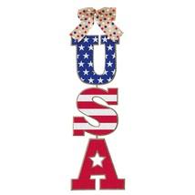 USA Patriotic Hanging Sign - $6.33