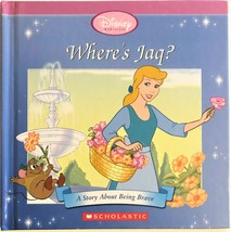 Disney Princess Cinderella Where's Jaq? Children's Book - $4.94